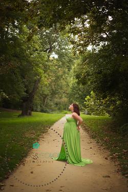 Couture Parfait Appel Green Gown