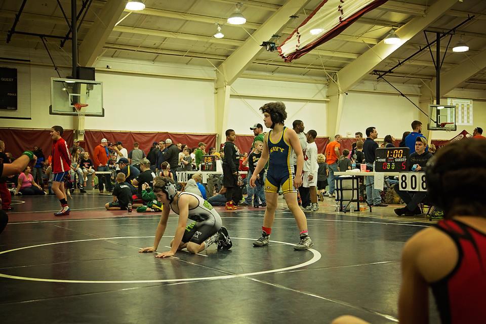 Caleb Wrestling