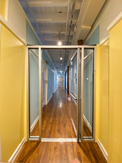 Savage Mill 3rd Floor Glass Door
