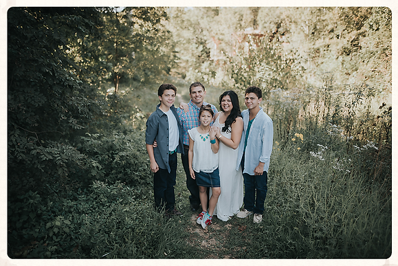 Candids & Colors Photography Photographer, Desiree Chaves and her family. Photo Credit: Lennon Photography (Fort Meyers FL Photographer)
