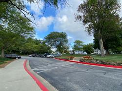 Savage Mill Court Yard Parking Lot