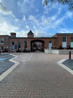 Savage Mill Court Yard Arch