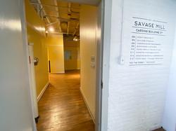 Savage Mill 3rd Floor through Door