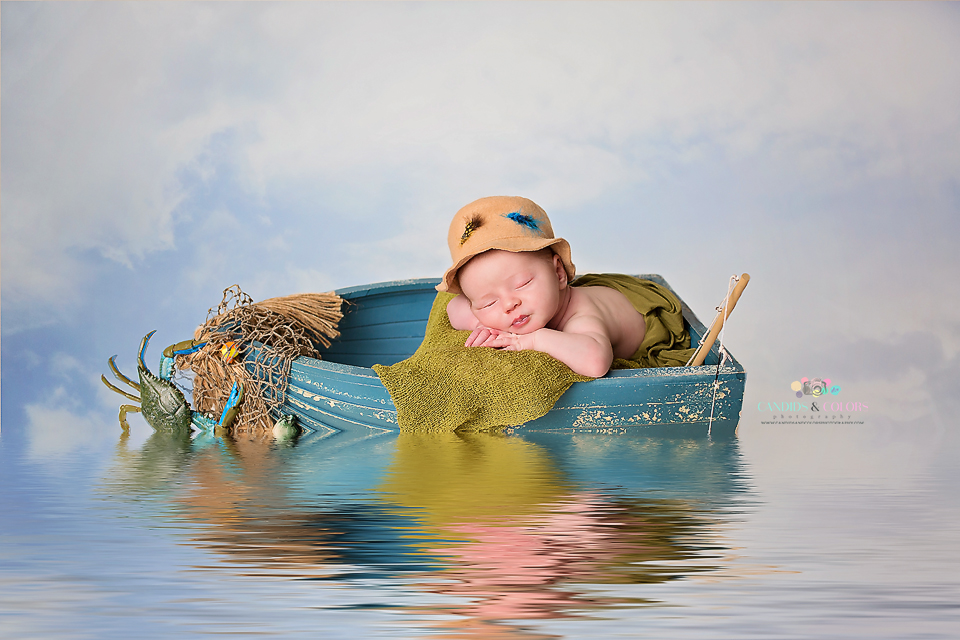 Posed Newborn Pictures