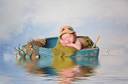 Posed Newborn Pictures