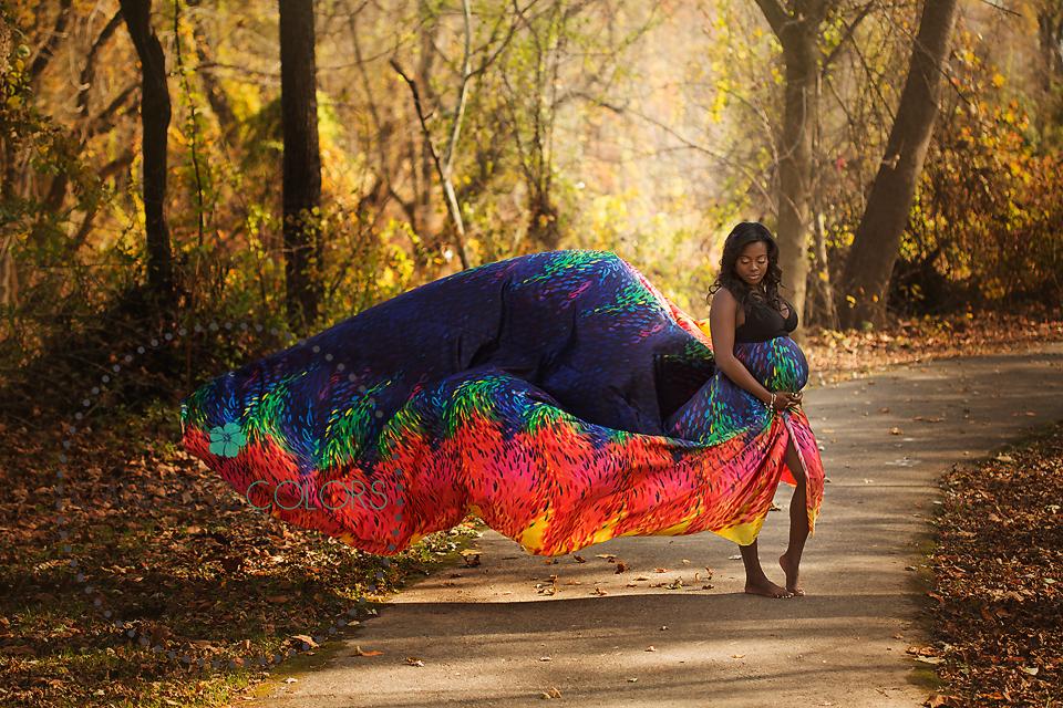 Rainbow Gown by Chelsea Celeste