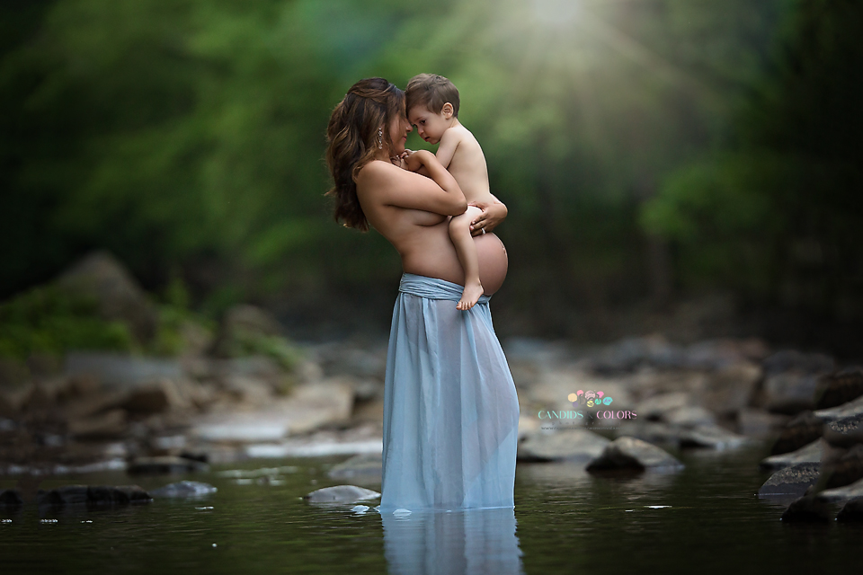 Water Maternity Photographer
