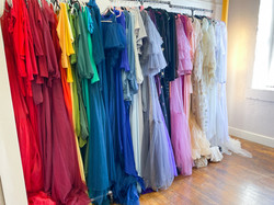 Rainbow of Maternity Gowns