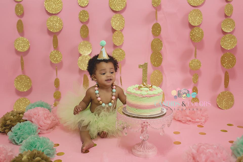 Candids & Colors Photography | Maryland Cake Smash Photographer