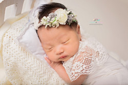 Newborn Pictures with Props