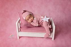 Posed Newborn Photograph | Baltimore MD