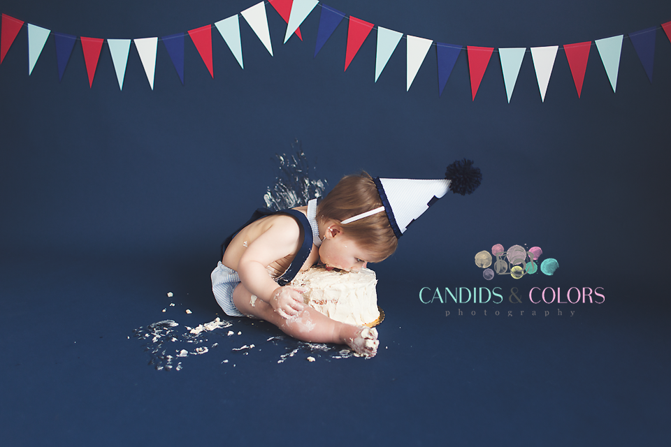 Maryland Cake Smash Photographer
