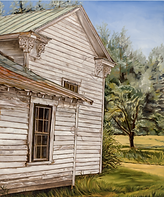 2016 - Popoo's House, oil on canvas.PNG
