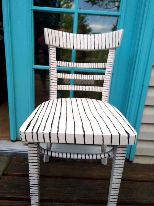 Pin Stripe Chair
