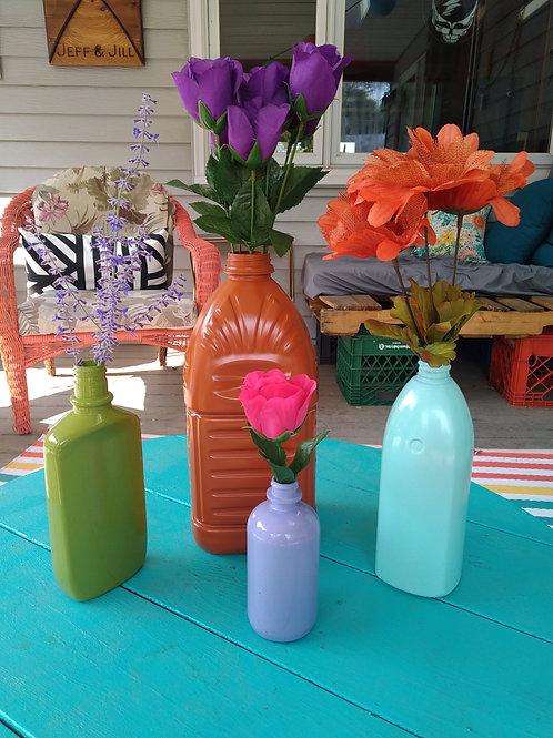 Upcycled Vases