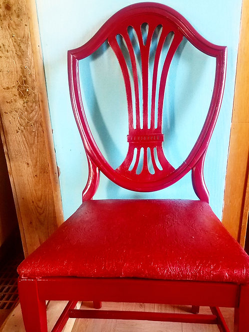 Red Sparkle Chair