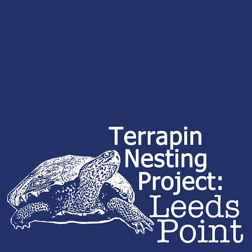 Terrapin Nesting Project: Leeds Point Navy Blue T-Shirt