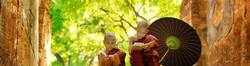 Deux jeunes moines shaolin