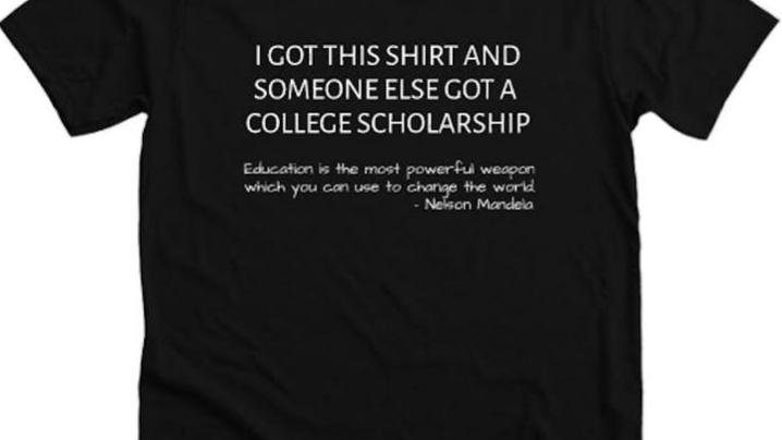 Scholorship Tshirts