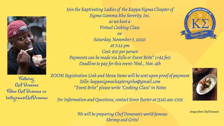 Cooking with Kappa Sigma & Chef Donavan
