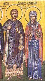 Saint Adrian of Nicodemia