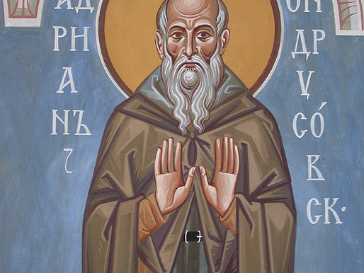 Saint Adrian of Canterbury