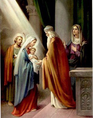 Candlemas (Feast of the Presentation of the Lord or Feast of the Purification of Mary)