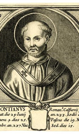 Saint Pope Pontian