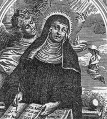 Saint Elisabeth of Schonau