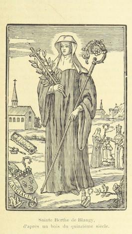 Saint Bertha of Artois