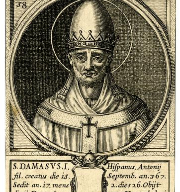 Saint Pope Damasus I