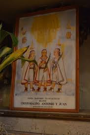 Saints Cristobal, Antonio and Juan
