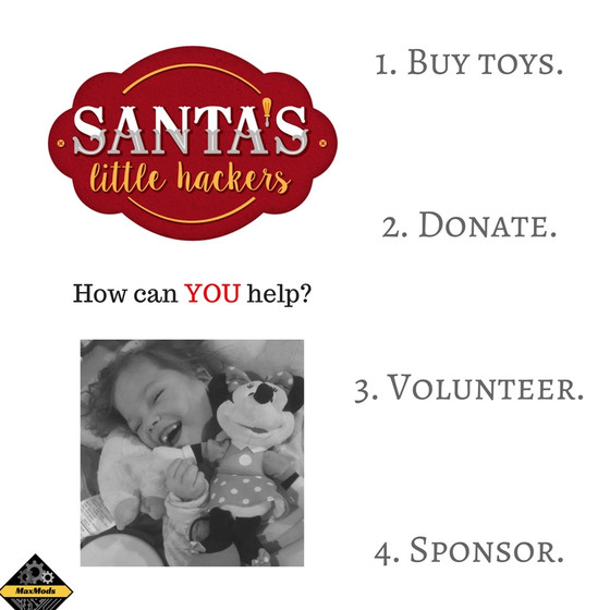 Santa's Little Hackers 2016 Toy Drive