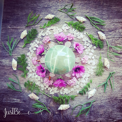 Green Moonstone Mandala Print