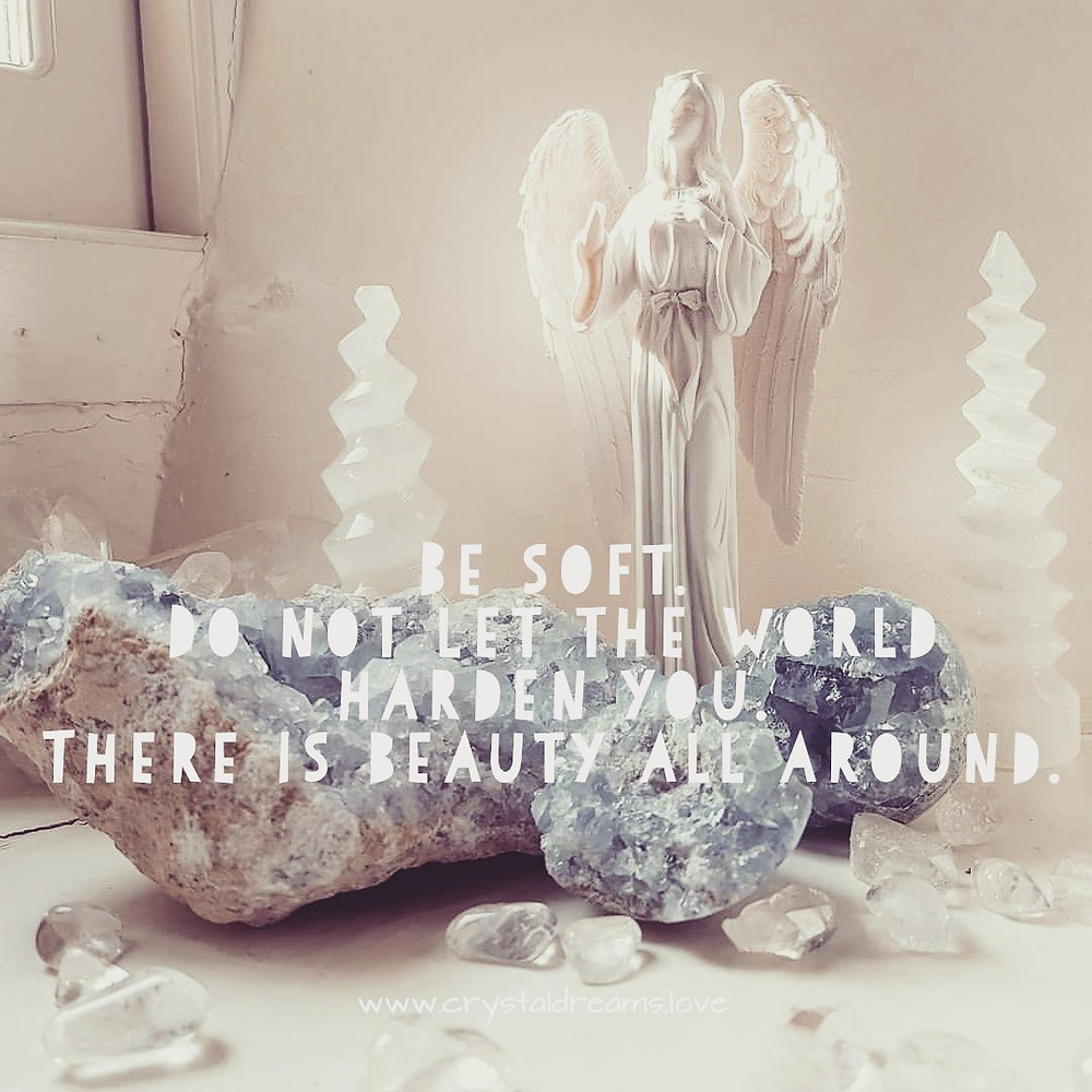 Be soft, Do not let the world make you hard.