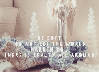 Be soft. Do not let the world make you hard