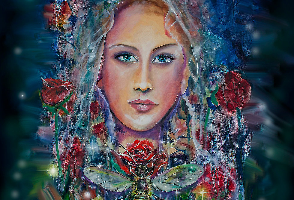 Goddess of the Rose Garden
