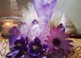 Amethyst ~ a steadfast companion for those who are grieving.