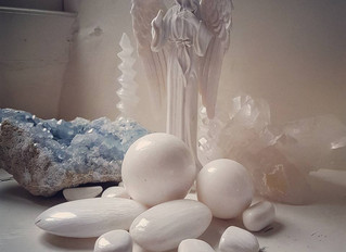 Scolecite.  Inner Peace ~ Serenity ~ Calm ~ Healing