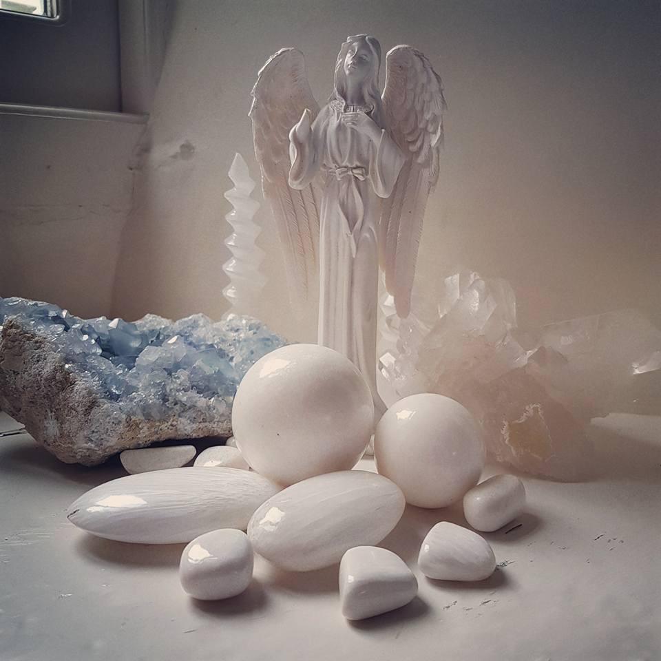 Scolecite by Beebee at Crystal Dreams
