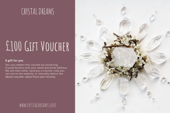 £25 Crystal Dreams Gift Voucher