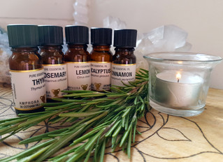 Thieves Oil ~ A perfect Essential Oil blend to help avoid colds, coughs and flu
