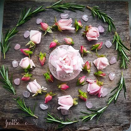 Roses & Rosemary Mandala Print