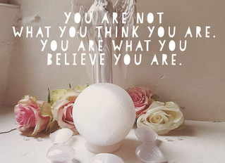 You are not what you think you are. You are what you BELIEVE you are.