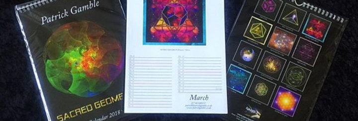 2018 Sacred Geometry Calendar
