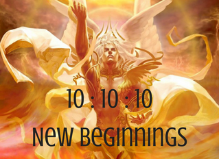 The 10:10:10 Portal ~ New Beginnings