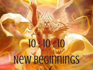 The 10:10:10 Portal ~ New Beginnings
