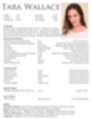 Tara Wallace Actress Resume 2016.jpg