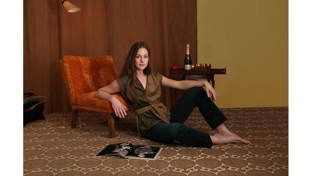 Editorial Model Tara Wallace