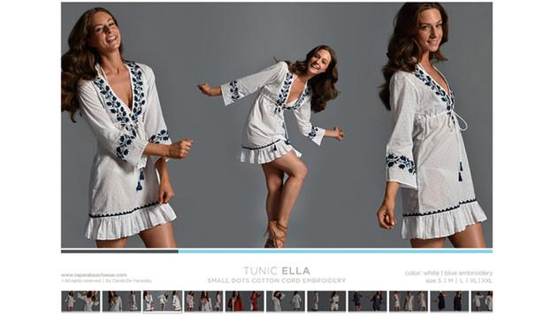 Tapara Beachwear Lookbook Tara Wallace Model